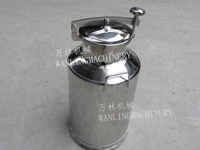 不锈钢快开人孔奶桶