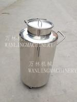 不锈钢移动式奶桶
